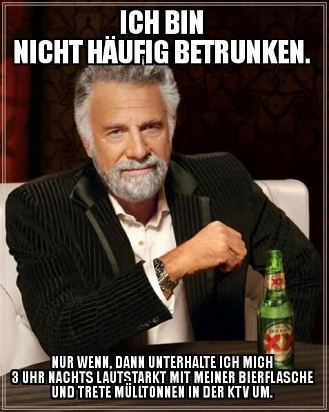 Rostock betrunken